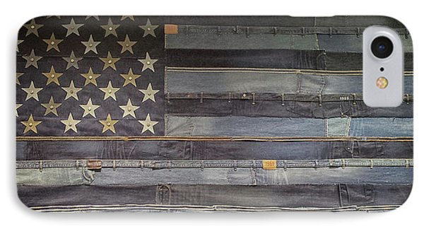 Stars And Stripes IPhone Case by Martin Newman