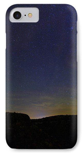 Stars Over Letchworth IPhone Case by Rick Berk