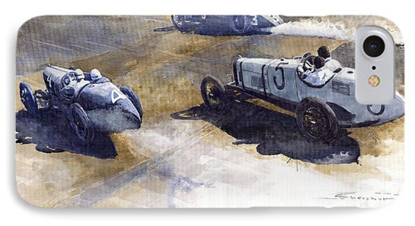 Start Italian Gp 1923 Monza  Phone Case by Yuriy  Shevchuk
