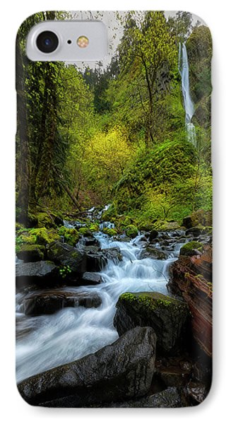 IPhone Case featuring the photograph Starvation Creek And Falls by Ryan Manuel