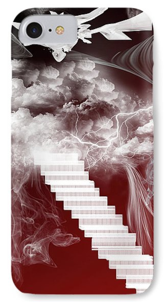 Starway To Heaven IPhone Case by Angel Jesus De la Fuente