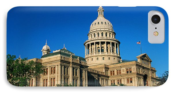 State Capitol Building Austin Tx IPhone Case by Panoramic Images