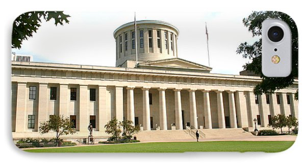 State Capitol Of Ohio IPhone Case