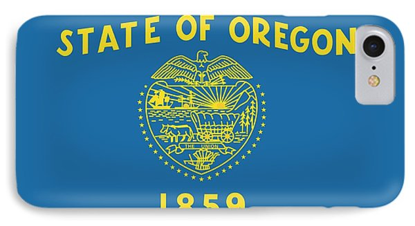 State Flag Of Oregon IPhone Case by American School