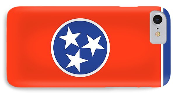 State Flag Of Tennessee IPhone Case by American School