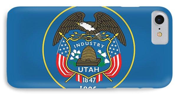 State Flag Of Utah IPhone Case