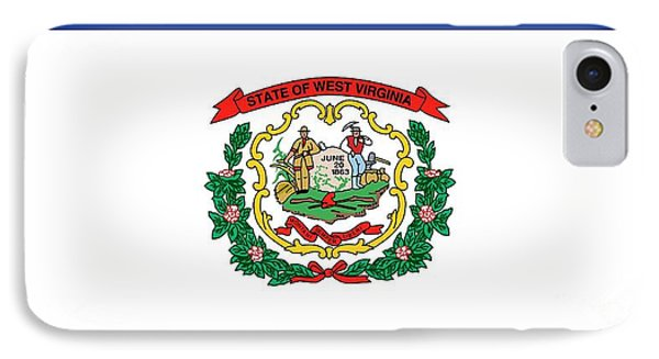 State Flag Of West Virginia IPhone Case by American School