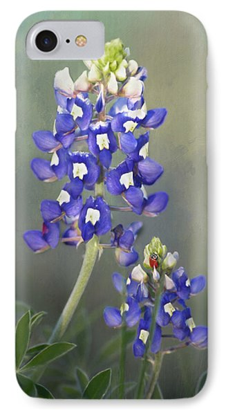 IPhone Case featuring the photograph State Flower Of Texas by David and Carol Kelly