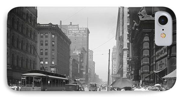State Street 2 - Chicago 1900 IPhone Case