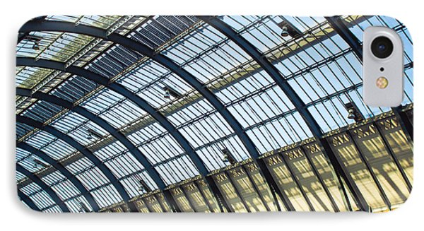 Station Roof IPhone Case by Tom Gowanlock