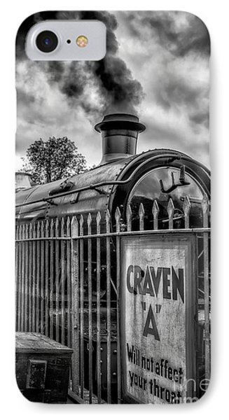 Station Sign IPhone Case by Adrian Evans