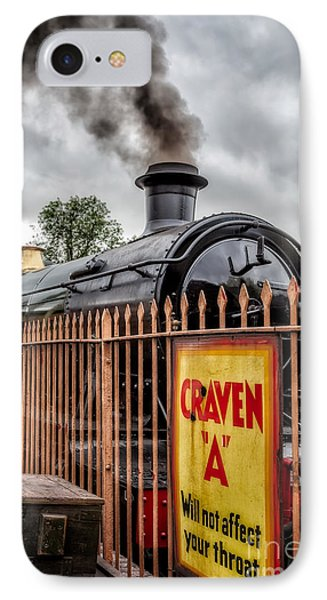Station Signs IPhone Case by Adrian Evans