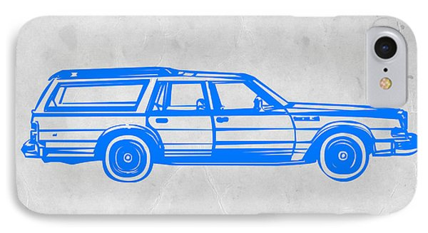 Station Wagon IPhone 7 Case by Naxart Studio
