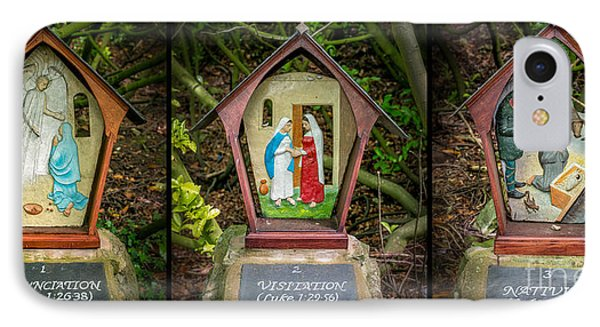 Stations Of The Cross 1 IPhone Case by Adrian Evans
