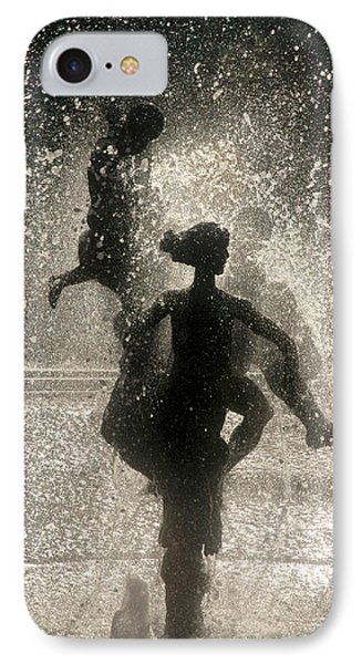 IPhone Case featuring the photograph Statue In Rostock, Germany by Jeff Burgess