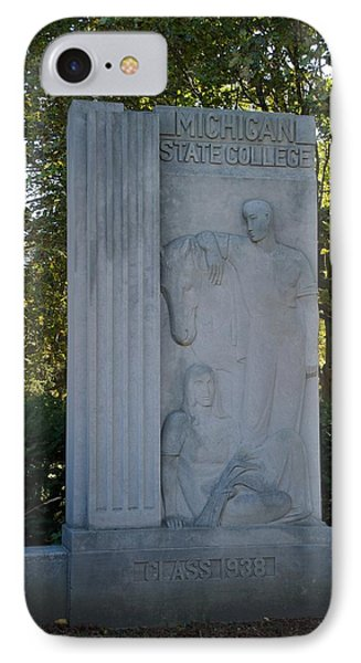 Statue IPhone Case by Joseph Yarbrough