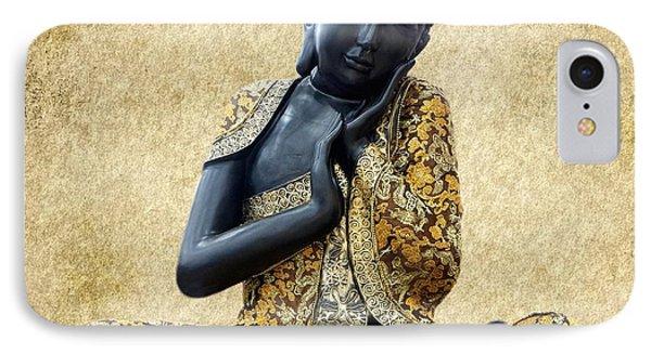 Statue Of Buddha IPhone Case by Art Spectrum