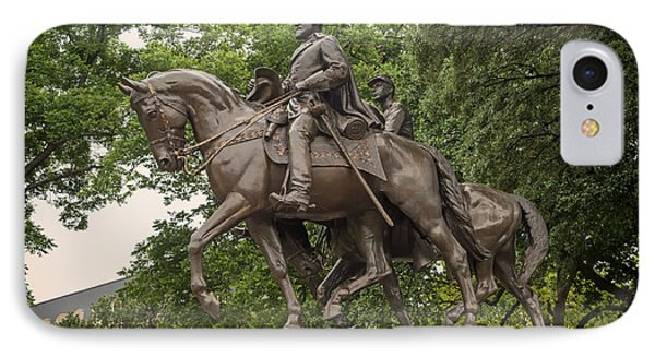 Statue Of General Robert E Lee On His Horse Traveller  IPhone Case