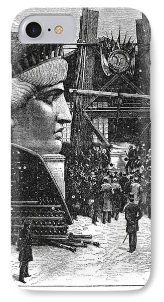 Statue Of Liberty, 1881 Phone Case by Granger