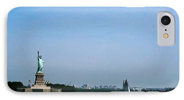 IPhone Case featuring the photograph Statue Of Liberty by The Art of Alice Terrill