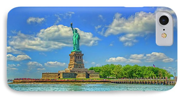 Statue Of Liberty IPhone Case by Craig Fildes