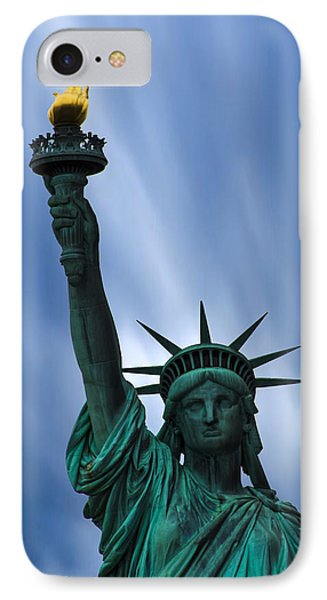 Statue Of Liberty IPhone Case by Martin Newman