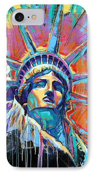Statue Of Liberty New York Art Usa IPhone 7 Case