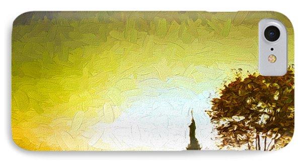 Statue Of Liberty - Nyc Phone Case by Matthew Ashton