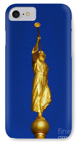 Statue Of Moroni IPhone Case