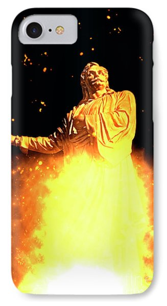 Statue Of Rigas Feraios IPhone Case by Humorous Quotes