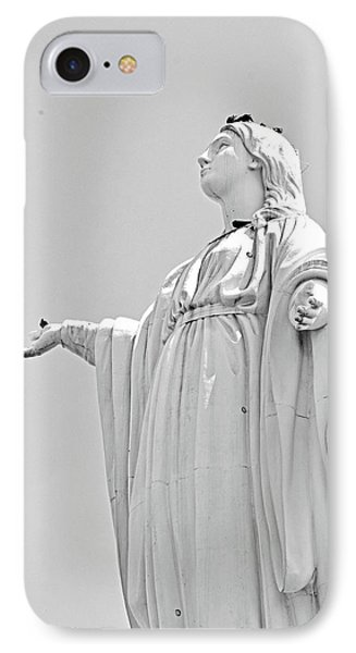 Statue Of The Virgin Mary No. 245-2 IPhone Case