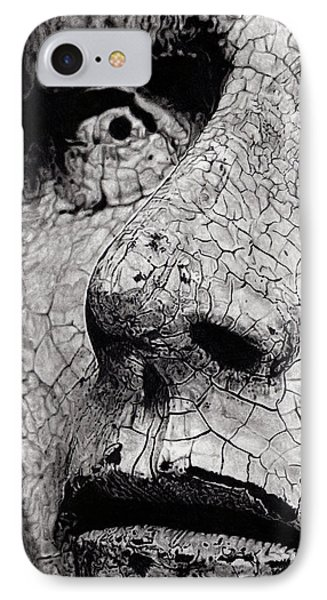 Statue Study IPhone Case by Paul Burges