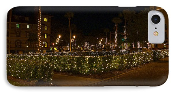 St.augustinelights1 IPhone Case