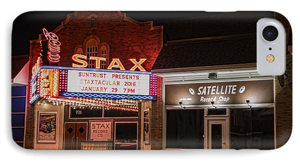 Stax Records - Memphis IPhone Case by Stephen Stookey