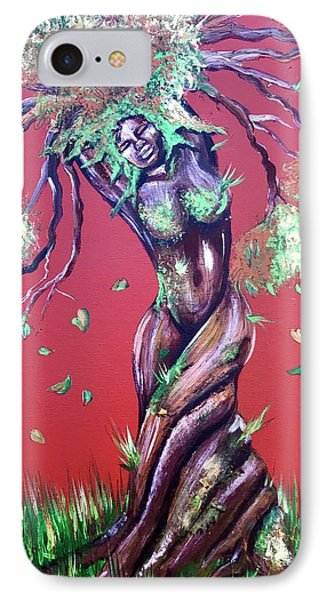 iPhone 7 Case - Stay Rooted- Stay Grounded by Artist RiA