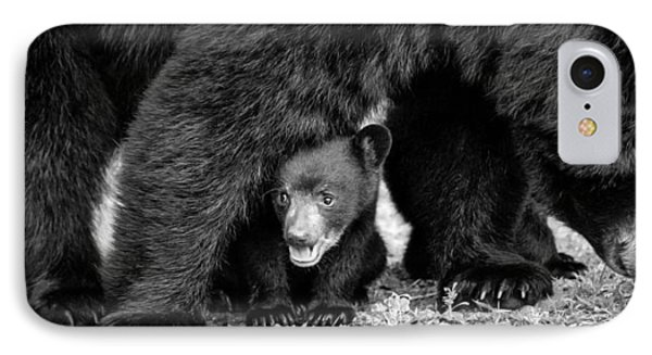 Staying Close-bw IPhone Case