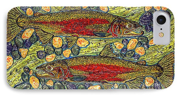 Stealhead Trout IPhone Case by Debbie Chamberlin