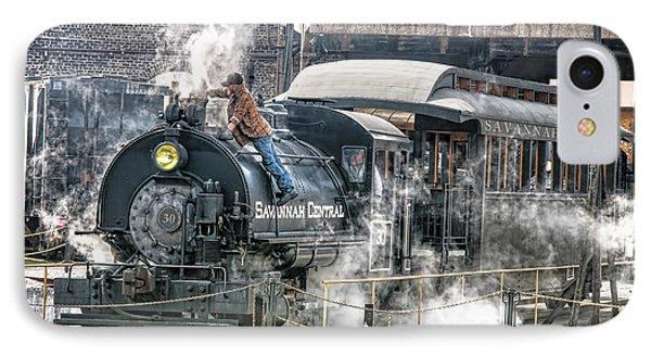 Steam Engine #30 IPhone Case by Scott Hansen