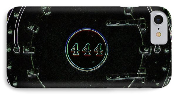 Steam Engine 444 IPhone Case by Kim Pate