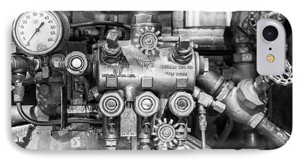 Steam Engine Controls IPhone Case