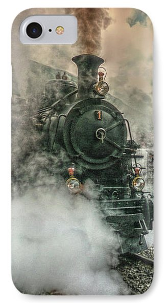 IPhone Case featuring the photograph Steam Engine by Hanny Heim
