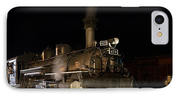 IPhone Case featuring the photograph Locomotive And Coal Tender On A Turntable Of The Durango And Silverton Narrow Gauge Railroad by Carol M Highsmith