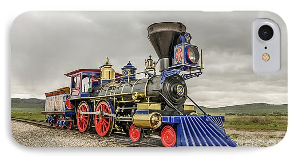 IPhone Case featuring the photograph Steam Locomotive Jupiter by Sue Smith