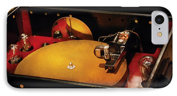 Steam Punk - Hey Dj Make Some Noise Cine-music System Phone Case by Mike Savad