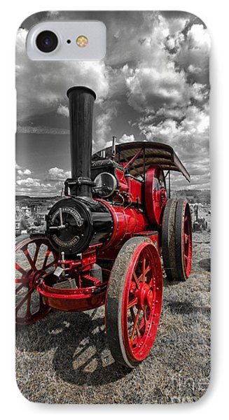 Steam Traction Engine IPhone Case by Nichola Denny
