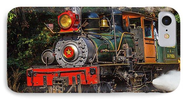 Steam Train Dixiana IPhone Case by Garry Gay