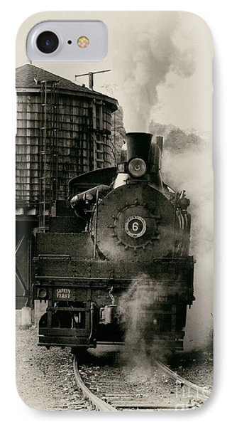 IPhone Case featuring the photograph Steam Train by Jerry Fornarotto
