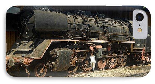 Steam Train  IPhone Case by Pierre Van Dijk