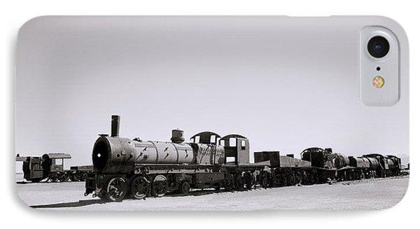 Steam Trains IPhone Case by Shaun Higson