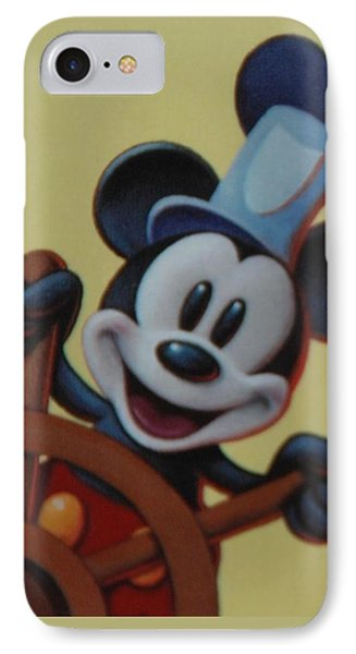 Steamboat Willy IPhone Case by Rob Hans